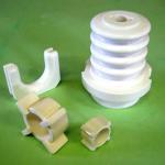 spacers, fibre guides, insulators
