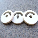 Ceramic shear valves, medical valves